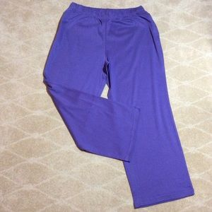 Woman Within NWT Wide Leg Knit Pant, 1X Petite